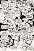 Original Comic Art:Panel Pages, George Tuska and Johnny Craig Iron Man #8 Story Page 15Original Art (Marvel, 1968)....