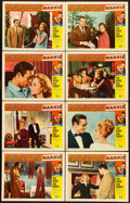 """Movie Posters:Hitchcock, Marnie (Universal, 1964). Lobby Card Set of 8 (11"""" X 14"""").. ...(Total: 8 Items)"""