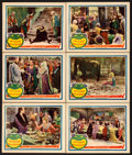 "Movie Posters:Comedy, Taming of the Shrew (United Artists, 1929). Lobby Cards (6) (11"" X14"").. ... (Total: 6 Items)"