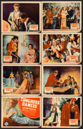 "Movie Posters:Musical, The Congress Dances (UFA, 1932). Lobby Card Set of 8 (11"" X 14"")..... (Total: 8 Items)"