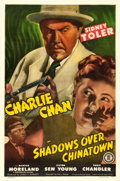 "Movie Posters:Mystery, Shadows over Chinatown (Monogram, 1946). One Sheet (27"" X 41"").Mystery.. ..."