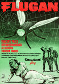 """Movie Posters:Science Fiction, The Fly (AB Cat Film, 1958). Swedish One Sheet (27.5"""" X 39.5"""")Walter Bjorne Artwork.. ..."""