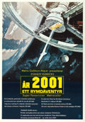 "Movie Posters:Science Fiction, 2001: A Space Odyssey (MGM, 1968). Swedish One Sheet (27.5"" X39.5""). Robert McCall Artwork.. ..."