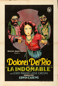 "Revenge (United Artists, 1928). Argentinean Poster (30"" X 44"")"