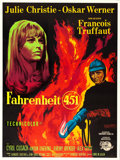 "Movie Posters:Science Fiction, Fahrenheit 451 (Universal International, 1967). Full-Bleed FrenchGrande (45.5"" X 61"") Guy Gerard Noel Artwork.. ..."
