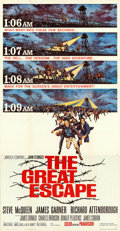 "Movie Posters:War, The Great Escape (United Artists, 1963). Three Sheet (41"" X 79"")Frank McCarthy Artwork.. ..."