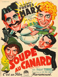 "Movie Posters:Comedy, Duck Soup (Paramount, 1934). French Grande (46.5"" X 61.5"") C. Venabert Artwork.. ..."