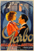 "Movie Posters:Drama, Susan Lenox (Her Fall and Rise) (MGM, 1931). German A0 (37.75"" X56"").. ..."