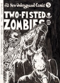 Original Comic Art:Complete Story, Rick Veitch and Tom Veitch Two-Fisted Zombies #1 Cover,Complete 34-Page Story, and Extra Unpublished Pages Origin...(Total: 37 Original Art)