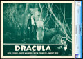 "Movie Posters:Horror, Dracula (Universal, R-1947). CGC Graded Lobby Card (11"" X 14"")....."