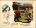 "Movie Posters:Comedy, The General (United Artists, 1927). Lobby Card (11"" X 14"") HapHadley Artwork.. ..."