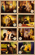 "Movie Posters:Comedy, Raffles (United Artists, 1930). Lobby Card Set of 8 (11"" X 14"")..... (Total: 8 Items)"