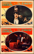 "Movie Posters:Comedy, The Circus (United Artists, 1928). Lobby Cards (2) (11"" X 14"")..... (Total: 2 Item)"