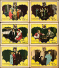 "Movie Posters:Mystery, The Bat (United Artists, 1926). Lobby Cards (6) (11"" X 14"").. ...(Total: 6 Items)"