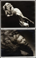 """Movie Posters:Miscellaneous, Hurrell Photo Portfolio III (George Hurrell, 1979-1980).Autographed Limited Edition Portfolio Photos (10) (16"""" X 20"""").This... (Total: 10 Item)"""