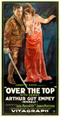 "Movie Posters:War, Over the Top (Vitagraph, 1918). Three Sheet (41"" X 80.5"") FredericC. Madan Artwork.. ..."