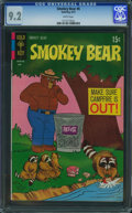 Bronze Age (1970-1979):Cartoon Character, Smokey Bear #6 (Gold Key, 1971) CGC NM- 9.2 White pages.