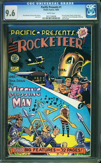 Pacific Presents #1 (Pacific Comics, 1982) CGC NM+ 9.6 White pages