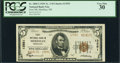 National Bank Notes:Mississippi, Meridian, MS - $5 1929 Ty. 2 First NB Ch. # 13551. ...