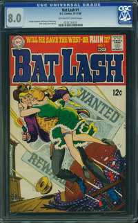 Bat Lash #1 (DC, 1968) CGC VF 8.0 Off-white to white pages