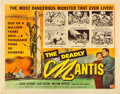 "Movie Posters:Science Fiction, The Deadly Mantis (Universal International, 1957). Half Sheet (22""X 28""). Reynold Brown Artwork.. ..."