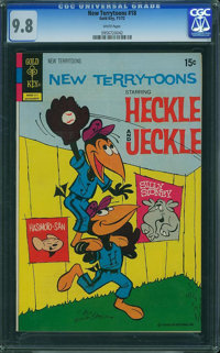 New Terrytoons #18 (Gold Key, 1972) CGC NM/MT 9.8 White pages
