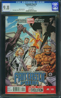 Modern Age (1980-Present):Superhero, Fantastic Four V4#5 - WESTPORT COLLECTION (Marvel, 2013) CGC NM/MT 9.8 White pages.