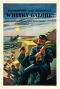 """Movie Posters:Comedy, Whiskey Galore (Eagle Lion, 1949). British One Sheet (27"""" X 40"""")....."""