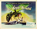 "Movie Posters:Science Fiction, The Wasp Woman (Filmgroup, 1959). Half Sheet (22"" X 28"").. ..."