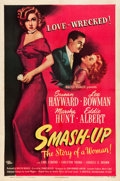 "Movie Posters:Drama, Smash-Up: The Story of a Woman (Universal International, 1947). OneSheet (27"" X 41"").. ..."