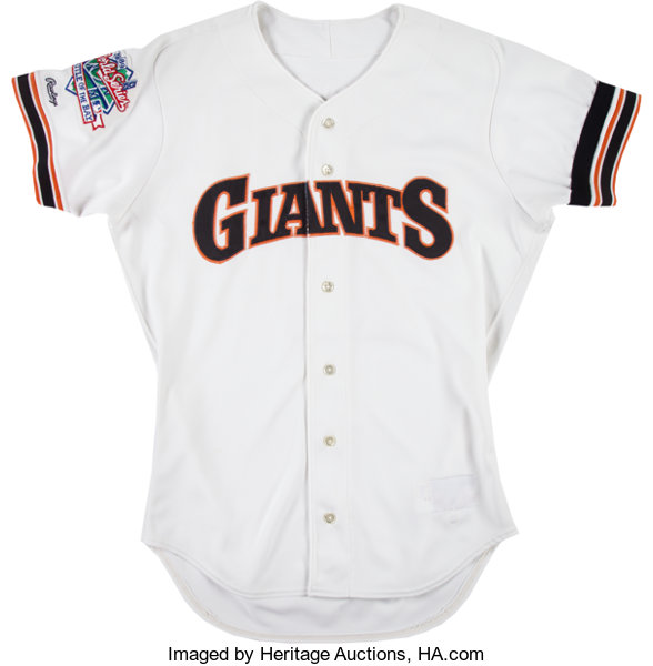 check out a2f3f 71614 1989 Brett Butler Game Worn San Francisco Giants World ...