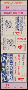 Baseball Collectibles:Tickets, 1951 World Series Game 4 Proof Ticket. ...