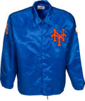Baseball Collectibles:Others, 1980's Gary Carter Game Worn New York Mets Warmup Jacket from The Gary Carter Collection. ...