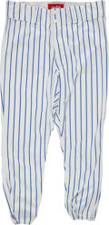 Baseball Collectibles:Uniforms, 1990's Tom Seaver Old Timers Day Game Worn Pants from The Gary Carter Collection....