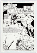 Original Comic Art:Splash Pages, Blair Kramer and Dick Ayers - Mother Nature Splash Page 1 OriginalArt (c. 1992)....