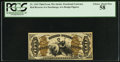 Fractional Currency:Third Issue, Fr. 1343 50¢ Third Issue Justice PCGS Choice About New 58.. ...