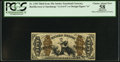 Fractional Currency:Third Issue, Fr. 1350 50¢ Third Issue Justice PCGS Apparent Choice About New 58.. ...