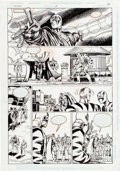 Original Comic Art:Panel Pages, Mark Bright, Mike Gustovich, and Steve Mitchell Icon #21Partial Story Original Art Group of 2 (DC, 1995).... (Total: 2Original Art)