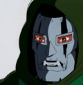 Animation Art:Production Cel, The Fantastic Four Doctor Doom Production Cel and AnimationDrawing (Marvel Films, 1995). ... (Total: 2 )