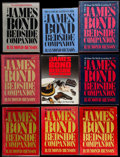 Movie Posters:James Bond, James Bond Bedside Companion by Raymond Benson Lot (Various,1980s). Autographed Hardcover Books (2), Autographed Softcover ...(Total: 9 Items)