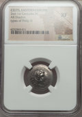 Ancients:Celtic, Ancients: EASTERN CELTS. Imitating Alexander III the Great (323-317BC). AR drachm. NGC XF...