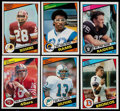 Football Cards:Sets, 1984 Topps Football Complete Set (396)....