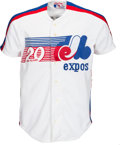 Baseball Collectibles:Uniforms, 1988 Gary Carter Equitable Old-Timers' Game Worn Uniform from The Gary Carter Collection. ...