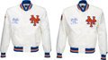 Baseball Collectibles:Others, 1986 Gary Carter New York Mets Jackets Lot of 2 from The GaryCarter Collection. ...