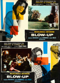 "Movie Posters:Thriller, Blow-Up (MGM, 1967). Italian Photobusta Set of 10 (18.28"" X 27"")..... (Total: 10 Items)"