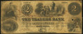 Obsoletes By State:Indiana, Terre Haute, IN- Traders Bank $2 Dec. 1, 1852 Wolka 804-2. ...