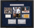 Baseball Collectibles:Others, Muhammad Ali and Derek Jeter Signed Display....
