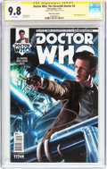 Modern Age (1980-Present):Science Fiction, Doctor Who: The Eleventh Doctor #4 Subscription Edition - SignatureSeries (Titan Comics, 2014) CGC NM/MT 9.8 White pages....