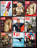 "James Bond Life Magazine Lot (Life, 1962-1987). Magazines (15) (Multiple Pages, 10"" X 13"" & 10.5"" X 1..."