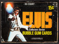 "Movie Posters:Elvis Presley, Elvis Presley Series Bubble Gum Cards (Donruss Co., 1978). BubbleGum Card Box of 36 in Original Box Displayer (8"" X 5.25"" X..."